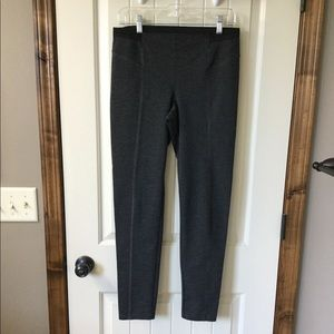 Vera Wang stretch leggings Charcoal gray
